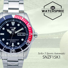 Seiko Men 5 Automatic Watch SNZF15K1 AU FAST & FREE