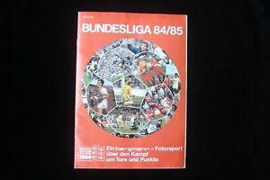 Bergmann Bundesliga 84/85 Leeralbum