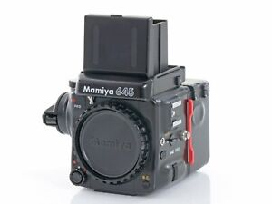 Mamiya m 645 pro / Body + Schachtsucher + Filmmagazin / Die professionelle M645
