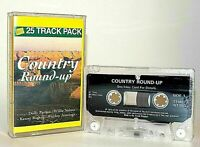 Country Round-Up : Audio Cassette - Willie Nelson, Dolly Parton, Kenny Rogers ..
