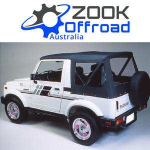 Suzuki SIERRA Replacement Soft Top  - CLEAR windows