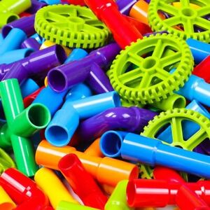 Colorful DIY Water Pipe Building Blocks Toys Kids Christmas Gift Educational Toy