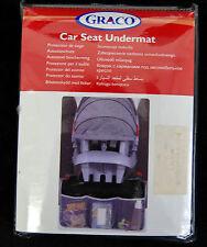 Graco Autositzschutz m. Taschen ! Kindersitz Babyschale Schutzbezug BA-163
