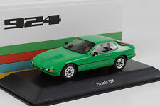 1977 Porsche 924 Transaxle green grün 1:43 Spark Museum