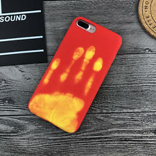 Magic Heat Sensitive Color Change Back Cover Case For iPhone 8 6S 7 Samsung S8 +