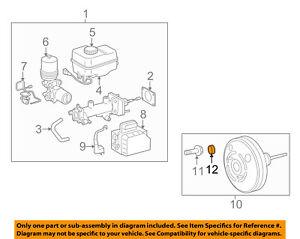 TOYOTA OEM-Check Valve Grommet 9048024015