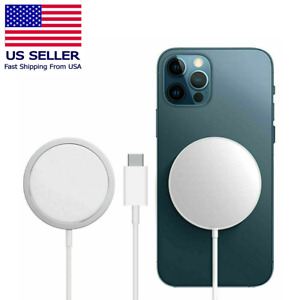 For iPhone 12 Pro Max 12 Mini 12 Fast Charging 15W Magnetic Mag safe Charger Pad