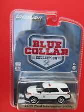 GREENLIGHT-BLUE COLLAR COLLECTION *2014 FORD INTERCEPTOR UTILITY* POSTAL POLICE