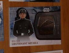 Topps STAR WARS Force Awakens Serie 2 Card MEDALLION 7 MITAKA 055/120 Carte rare