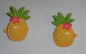 Gymboree Aloha Sunshine 2012 Pineapple Hair Clip, 2 Pack Set