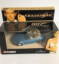 CORGI JAMES BOND GOLDEN EYE BMW Z3 ROADSTER 1/43 SCALE
