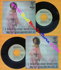 LP 45 7'' CAROL DOUGLAS I want to stay with you We're gonna make it no cd mc dvd