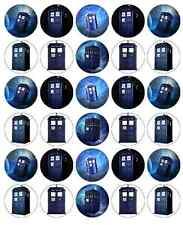 DR WHO TARDIS decorazioni per cupcake wafer commestibile carta di acquistare 2 ottenere 3rd libero