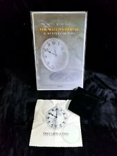 Rare The Watch Crystal By Eric Maurin A Mystery In Time New Unused Oop