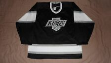 Vintage Los Angeles Kings Black CCM Men's Large Rare Original NHL Hockey Jersey