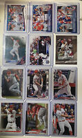 2014 Topps Mike Trout  #103 League Leaders /12 Card Lot ! W/2015 League Leaders