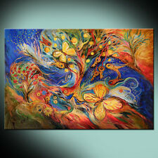 The Wind in Garden: top ready to hang canvas print from original artwork