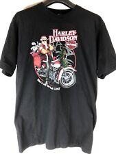 Harley Davidson Mens Large Santa Claus Christmas Shirt York, PA Shirt
