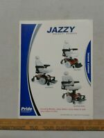 Jazzy Select Series Mobility Scooter Owners Manual Pride instructions