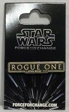 Disney Star Wars Rogue One A Star Wars Story Logo Pin NEW
