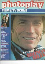 PHOTOPLAY FILM & TV SCENE - AUGUST 1980 (CLINT EASTWOOD)