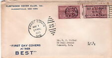 Fleetwood Cover Club envelope Sc# 1020 Saint Louis MO Mat 1 1953 2nd Day