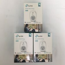 3 Pack - TP-Link Smart Wi-Fi Plug HS100 Work With Kasa App Factory Refurbished