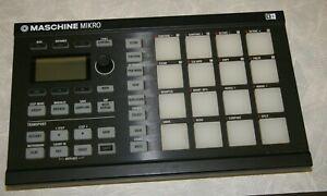 Native Instruments Maschine Mikro Drum Machine/Beat Maker,no software or license