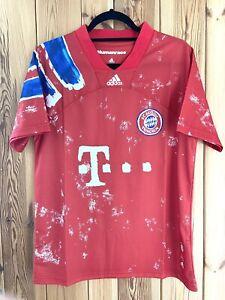 Bayern Munich Human Race Adidas - Size Small - Football Shirt BNWT