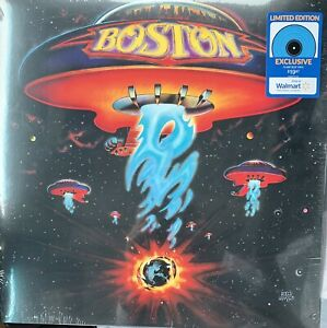 BOSTON VINYL NEW! EXCLUSIVE LIMITED EDITION FLAME BLUE LP, MORE THAN A FEELING