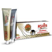 3 KITs Cruset Hair Straightener Cream Extra Care Keratin Straightening 60 ml
