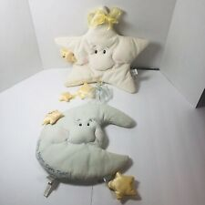 "Baby Gund Moon & Star Plush Soft Wall Hanging Nursery Decor ""Star Light Bright"""