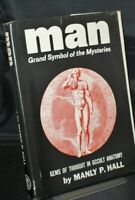 Manly P Hall Man Grand Symbol of the Mysteries in D/J 1972