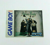 Addams Family Nintendo Game Boy Instruction Manual Book Only Ocean