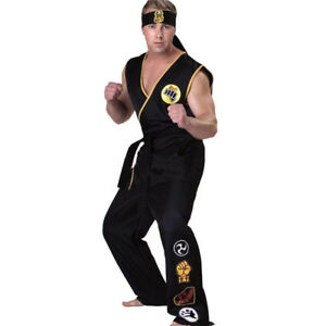 The Karate Kid Cobra Kai Japan Taekwondo Uniform Karate Suits Costumes Unisex W