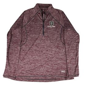 NWT Under Armour Dowling Catholic Heat Gear 1/4 Zip Semi Fitted Top L - E99