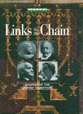 Links in the Chain: Shapers of the Jewish Tradition (Oxford Profiles)-ExLibrary