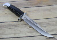 BUCK 119 SPECIAL FIXED BLADE HUNTING KNIFE MADE IN USA FULL TANG LEATHER SHEATH