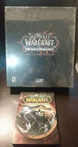 WORLD OF WARCRAFT CATACLYSM COLLECTORS EDITION + BONUS STEELBOOK PC/MAC *NEW*
