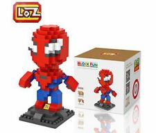 LOZ Diamond Blocks iBLOCK FUN Super Heroes Mini Nano 9456 Spider-man With Box