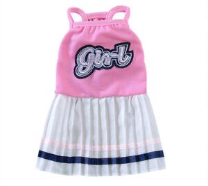 Extra Small Dog Dress Size XXS Pet Shirt Kitten Skirt Tutu for Teacup Chihuahua