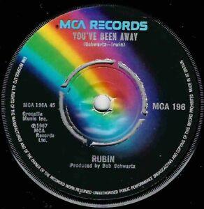 NORTHERN SOUL - RUBIN - YOU'VE BEEN AWAY - UK MCA .