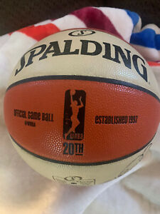 San Antonio Silver Stars Official Game Ball BASKETBALL