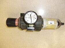 Parker Pneumatics Regulator Filter 0430090143 w 0-30 psi Gauge *FREE SHIPPING*