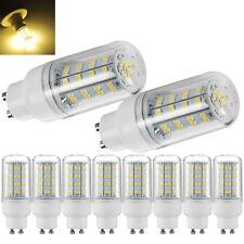 10X 6W GU10 LED Glühbirne Birne Leuchtmittel SMD Mais Lampe Leuchte Warmweiβ DE