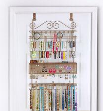 Longstem #7100 Bronze Over the Door Jewelry Organizer Storage Rack ~ Rated Best