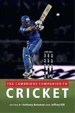 The Cambridge Companion to Cricket, , Very Good condition, Book