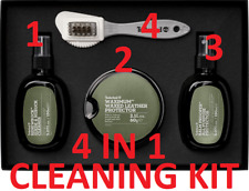 TIMBERLAND 4 IN 1 SHOE CLEANING KIT CARE SET SUEDE LEATHER BOOTS SHOES PROTECT