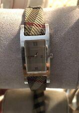 Authentic Used Burberry Women's Watch Nova Design