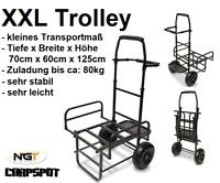 XXL Trolley Barrow Transportwagen Carp Karpfen Transportkarre Tackle NGT ZUG